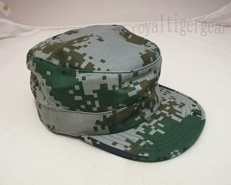 China PLA Type 07 Digital Universal Camo Cap – No Patch