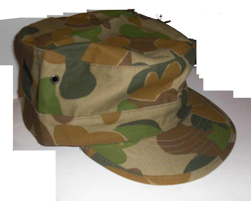 Australia Army Woodland AUSCAM DPCU Camo Cap 6fcf54740e37