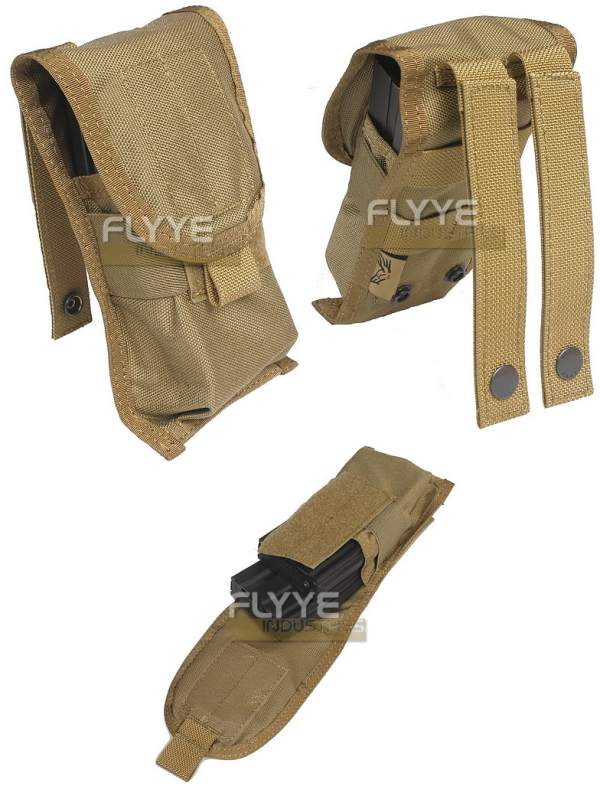 FLYYE Single M4 Mag MOLLE Pouch for 2 Mag. - Ver. FE