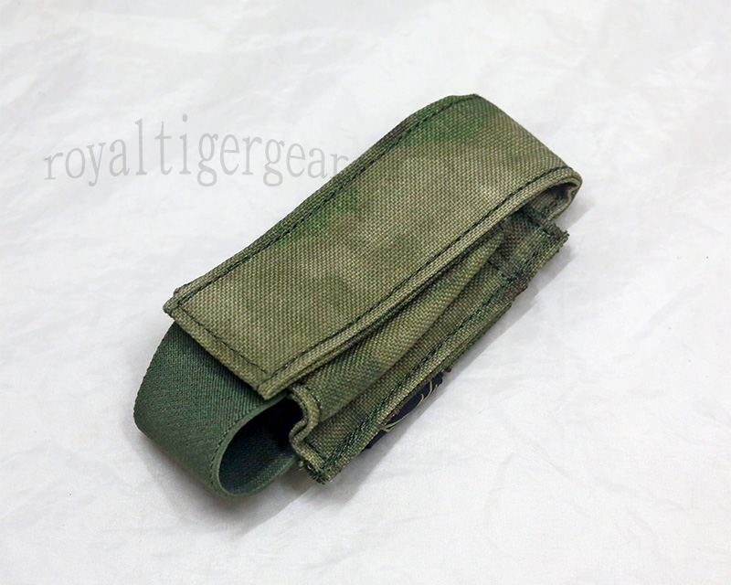 FLYYE 40mm Grenade Shell MOLLE Pouch - A-TACS , A-TACS/FG