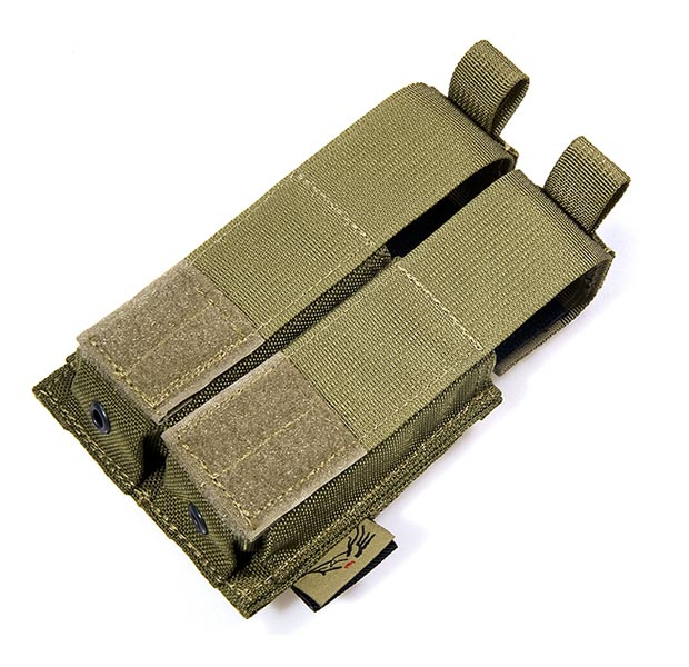 FLYYE Double .45 Pistol Mag. MOLLE Pouch