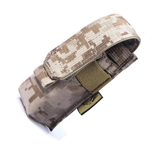 FLYYE Single 9mm Mag MOLLE Pouch Ver.FE - AOR1 , AOR2