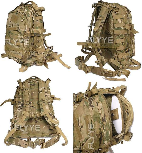 FLYYE MOLLE AIII Back Pack - MultiCam®