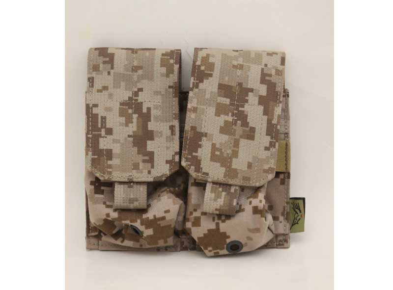 FLYYE Double M14 / SR-25 7.62mm 20 Rds Mag MOLLE Pouch - AOR1 , AOR2