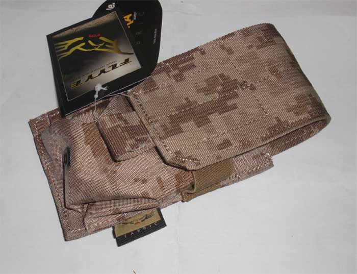FLYYE Single M14 / SR-25 7.62mm 20 Rds Mag MOLLE Pouch - AOR1 , AOR2