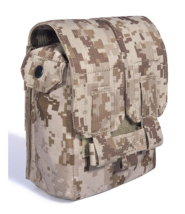 FLYYE SAW M249 200 Round Mag MOLLE Pouch - AOR1 , AOR2