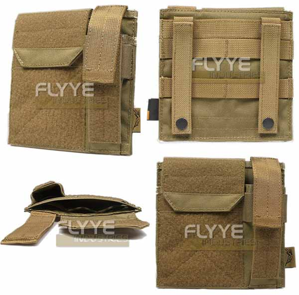 FLYYE MOLLE Admin / Pistol Mag Pouch