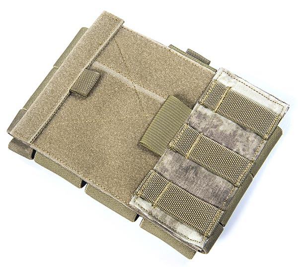 FLYYE Multi-Purpose Map Administrative MOLLE Pouch - A-TACS , A-TACS/FG