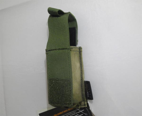 FLYYE Single .45 Pistol Mag. MOLLE Pouch - A-TACS , A-TACS/FG