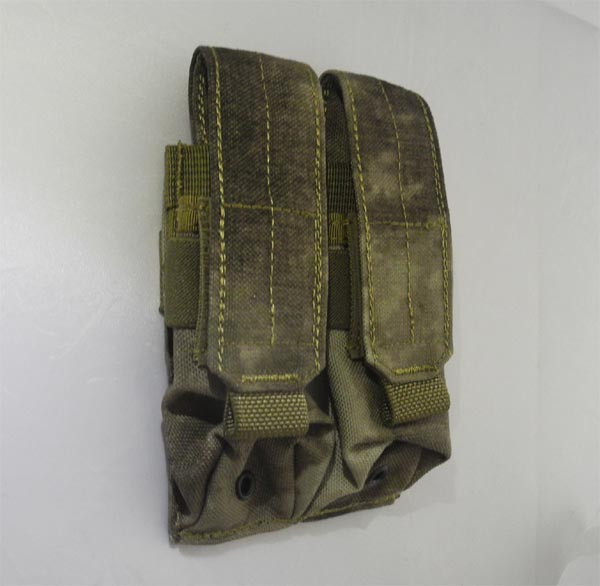 FLYYE Double 9mm Mag MOLLE Pouch Ver.FE - A-TACS , A-TACS/FG
