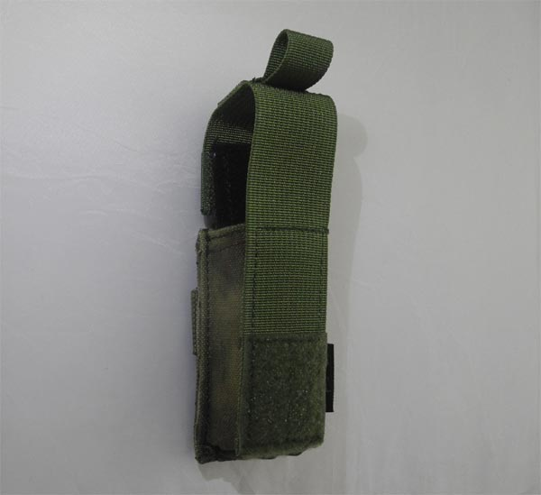 FLYYE Single 9mm Pistol Mag. MOLLE Pouch Ver.HP - A-TACS , A-TACS/FG
