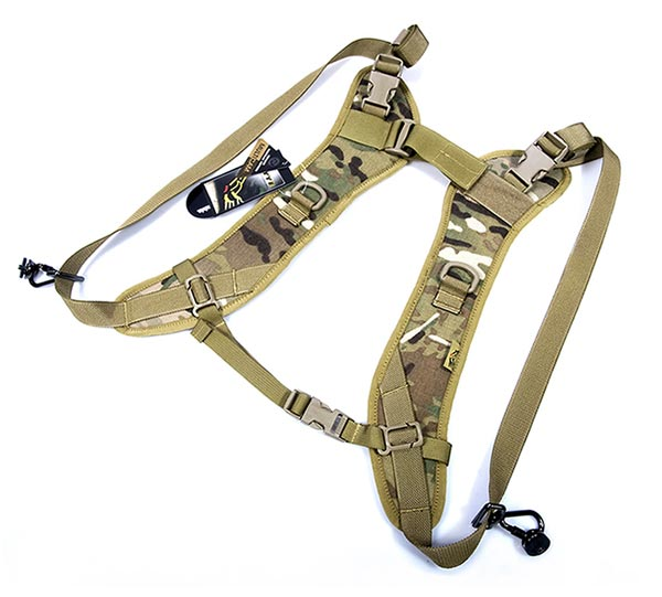 FLYYE Dual Camera Straps w/ ARC D-ring - MultiCam®