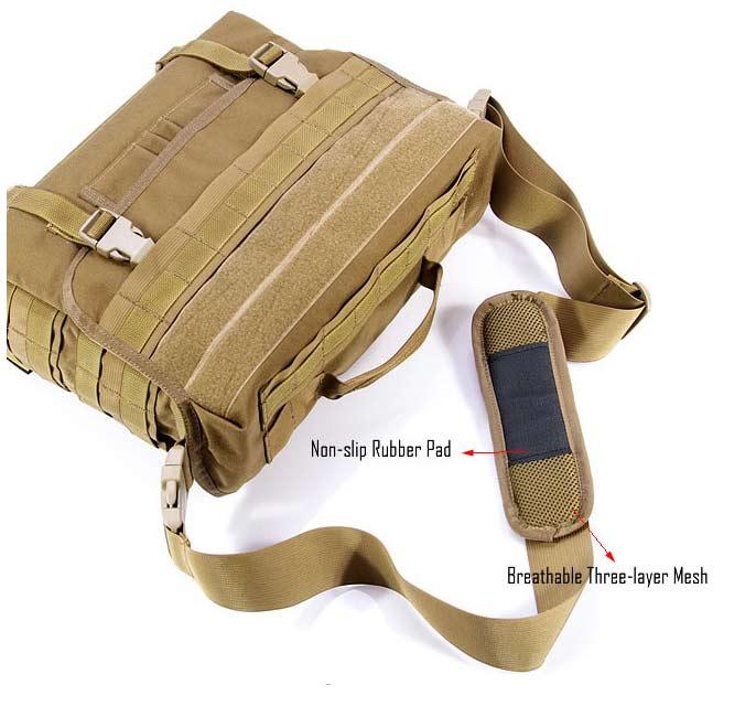 8eb2716eb0 FLYYE Dispatch Bag  CO-DISBAG . Color   Black