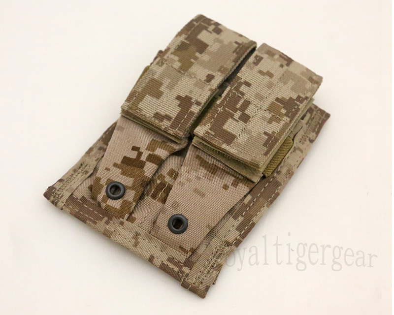 FLYYE Double 9mm Mag MOLLE Pouch - AOR1 , AOR2