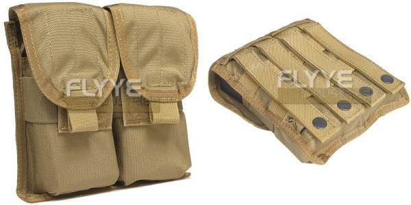 FLYYE Double M4 Mag MOLLE Pouch for 4 Mag - Ver. FE