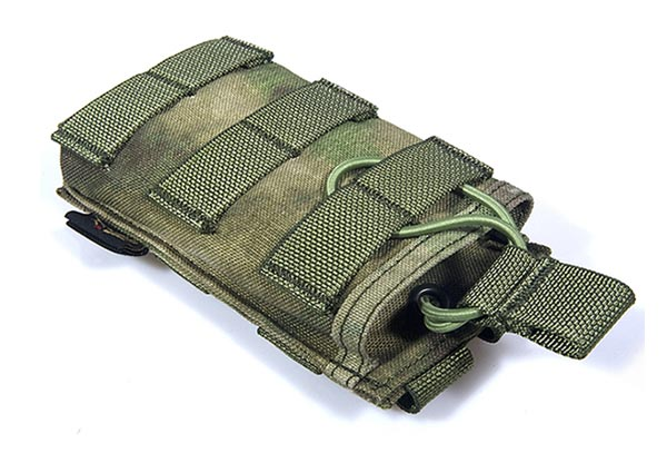 FLYYE Stacker EV Universal Single Mag MOLLE Pouch - A-TACS , A-TACS/FG