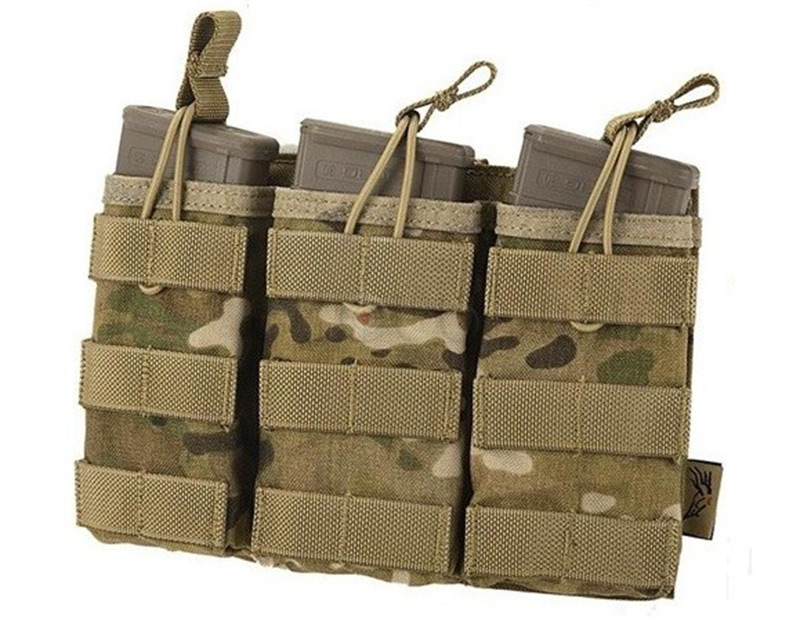FLYYE Stacker EV Universal Triple Mag MOLLE Pouch - MultiCam®