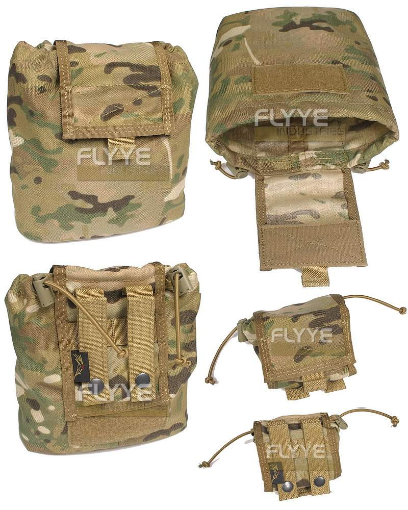 FLYYE MOLLE Folding Magazine / Drop Dump Pouch - MultiCam®