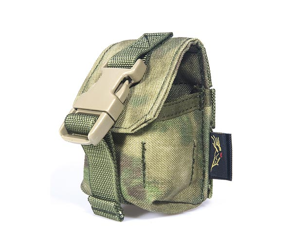 FLYYE Fragmentation Grenade MOLLE Pouch -  A-TACS , A-TACS/FG