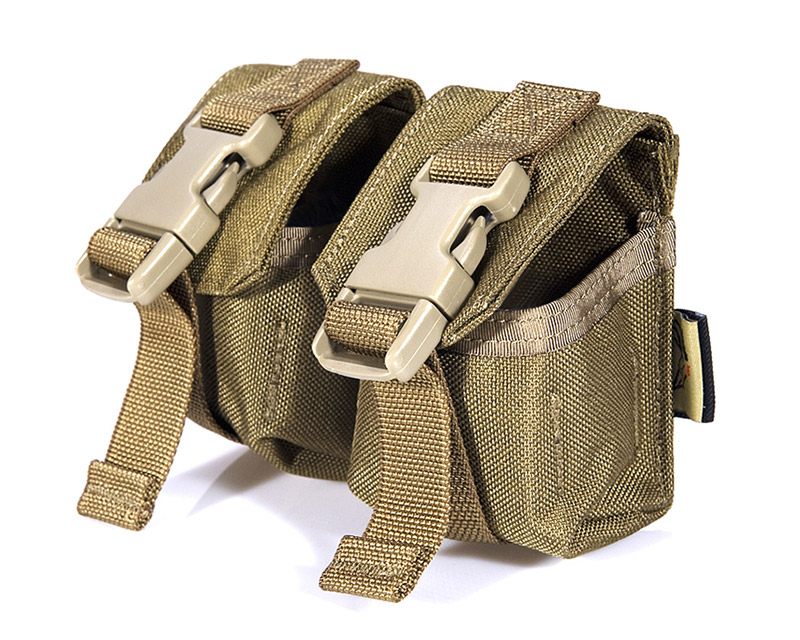 FLYYE Double Twin Fragmentation Grenade MOLLE Pouch