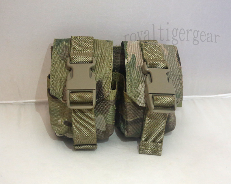 FLYYE Double Twin Fragmentation Grenade MOLLE Pouch - MultiCam®