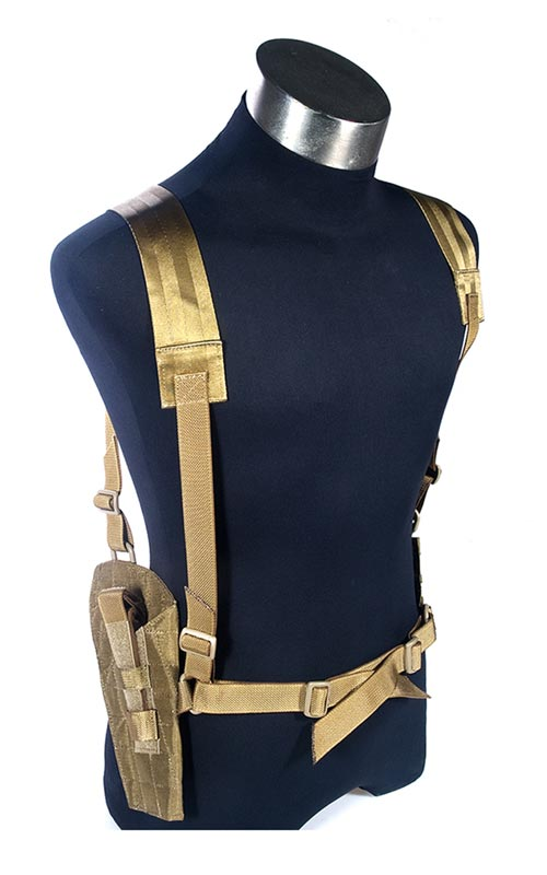 FLYYE Shoulder System Panel Holster w/ Ammo Pouch