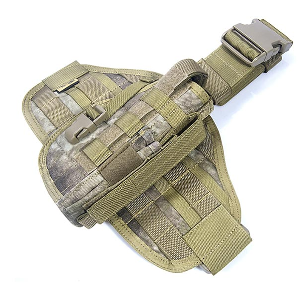 FLYYE MOLLE Pistol Holster Ver.1 + Panel Set - A-TACS , A-TACS/FG