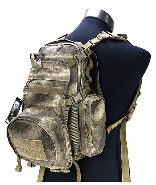 FLYYE Yote Hydration MOLLE Backpack - A-TACS , A-TACS/FG