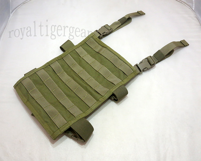 FLYYE MOLLE Right-Angle Leg Panel