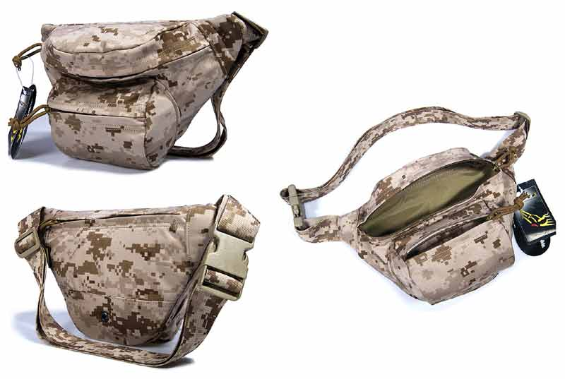 FLYYE Low-pitched Waist Pack - AOR1 , AOR2