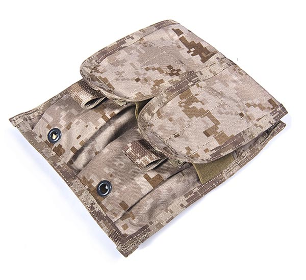 FLYYE Double M4 Mag MOLLE Pouch for 4 Mag - Ver. FE - AOR1 , AOR2