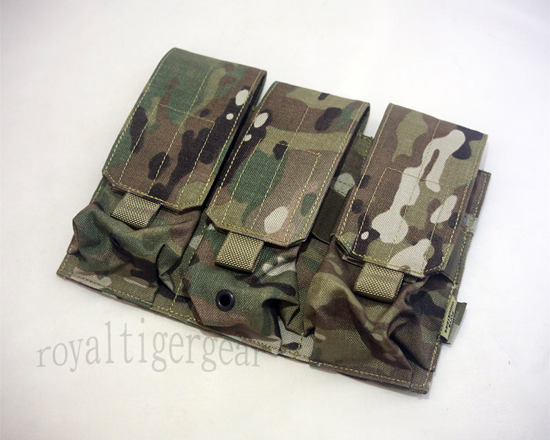 FLYYE Triple M4 Mag MOLLE Pouch for 6 Mag. - MultiCam®