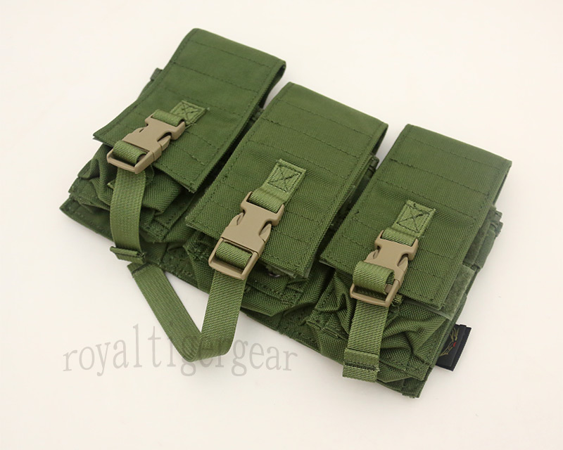 FLYYE Triple M4 Dual 9mm Mag Pouch