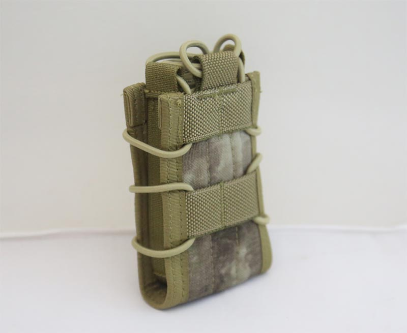 FLYYE BIB Single Rifle AR-15/M4 5.56 Magazine Pouch - A-TACS , A-TACS/FG