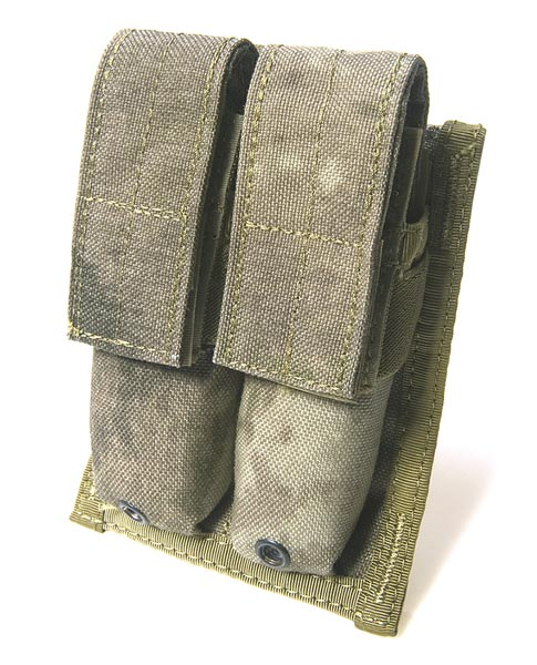 FLYYE Double 9mm Mag MOLLE Pouch - A-TACS , A-TACS/FG