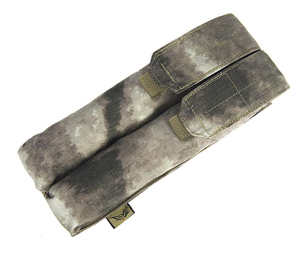 FLYYE Double P90/UMP Mag MOLLE Pouch - A-TACS , A-TACS/FG