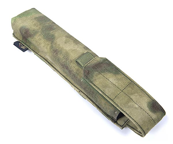 FLYYE Single P90/UMP Mag MOLLE Pouch - A-TACS , A-TACS/FG