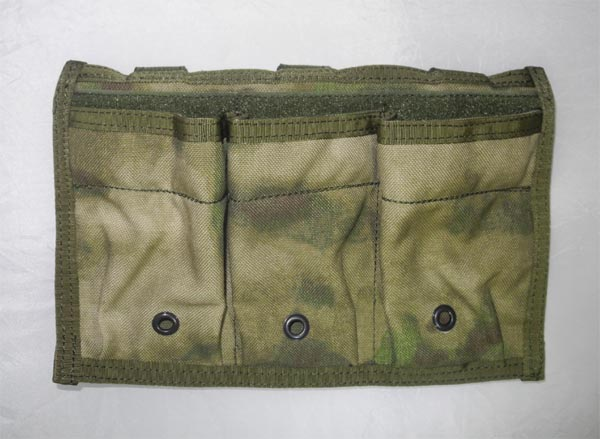 FLYYE RAV Triple M4/M16 Mag MOLLE Pouch - A-TACS , A-TACS/FG