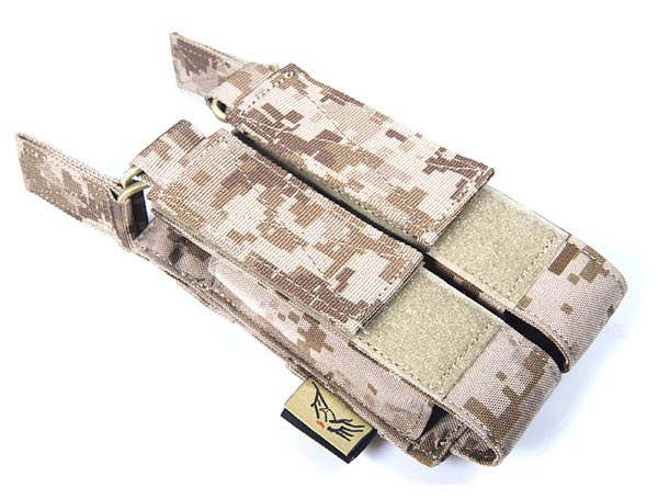 FLYYE Open-Top Double MP7 Magazine Pouch - AOR1 , AOR2