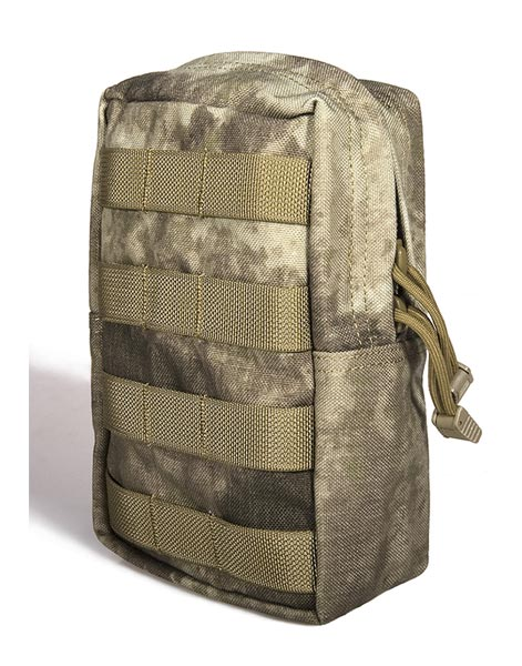 FLYYE Vertical Accessories MOLLE Pouch - A-TACS , A-TACS/FG