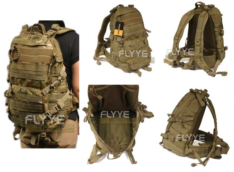 FLYYE Fast EDC Back Pack - A-TACS , A-TACS/FG