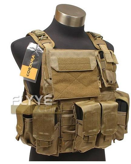 FLYYE MOLLE PC Plate Carrier w/ Pouches
