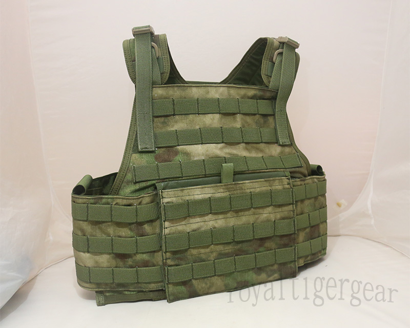 FLYYE MOLLE PC Plate Carrier - A-TACS , A-TACS/FG