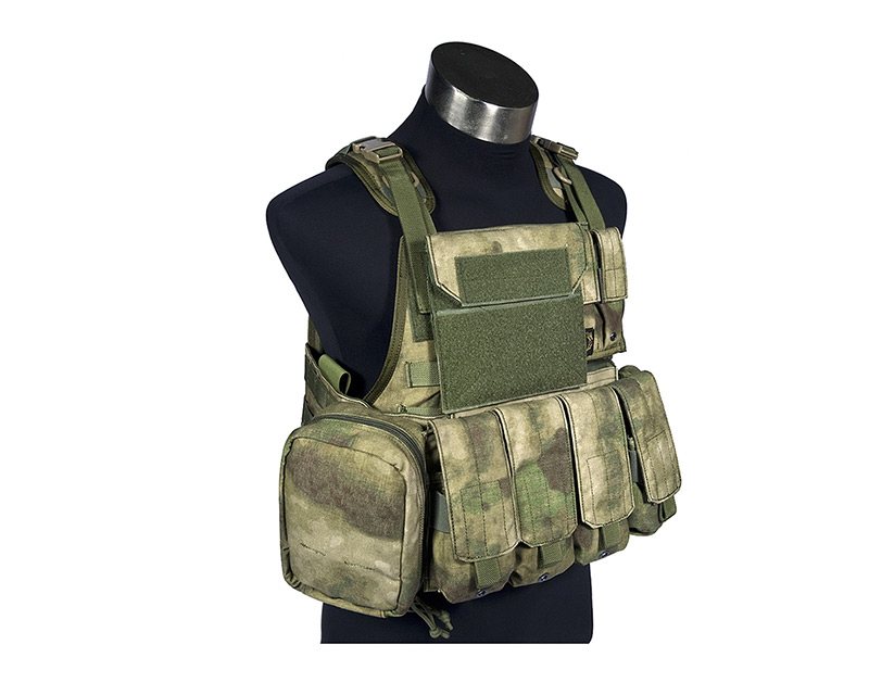 FLYYE MOLLE PC Plate Carrier w/ Pouches - A-TACS , A-TACS/FG