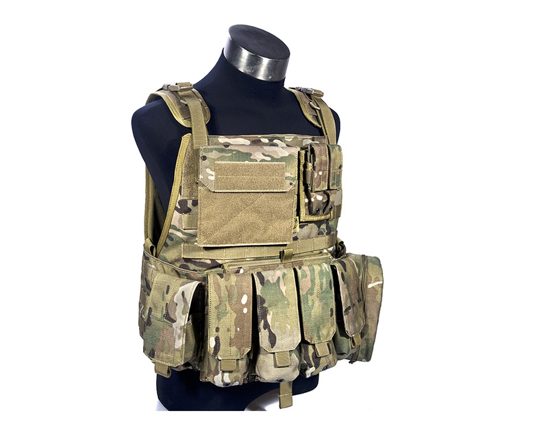 FLYYE MOLLE PC Plate Carrier w/ Pouches - MultiCam®