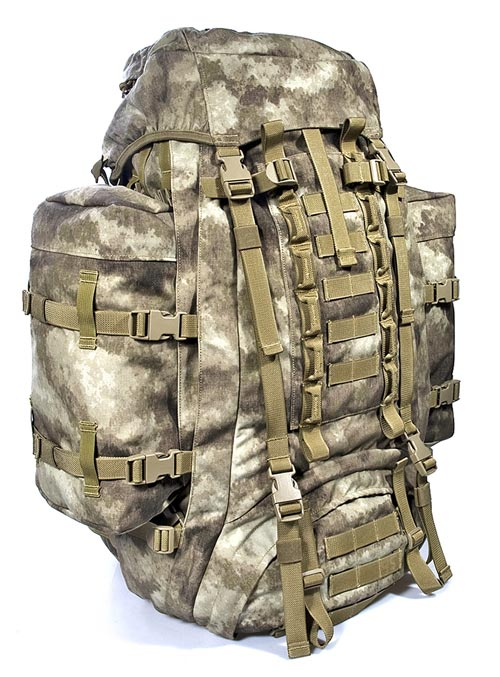 FLYYE SPEC-OPS 60-100L Shuttle Backpack - A-TACS , A-TACS/FG