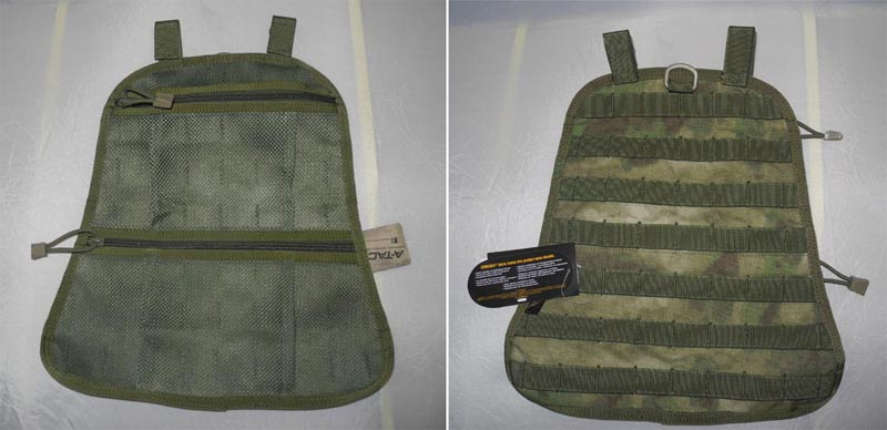 FLYYE Fast EDC Back Pack Built-in MOLLE Panel + Net Bag - A-TACS , A-TACS/FG