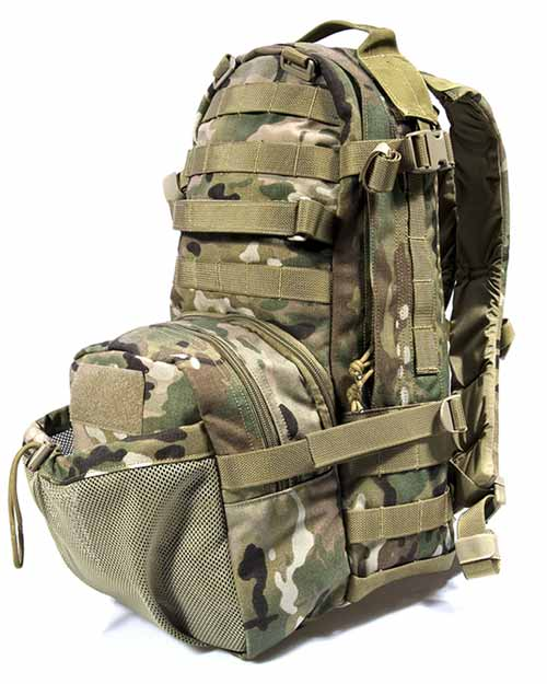FLYYE Jumpable Assault MOLLE Backpack - A-TACS , A-TACS/FG