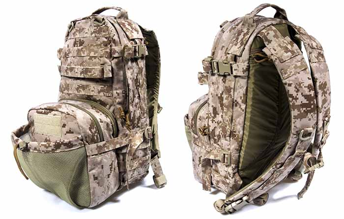 FLYYE Jumpable Assault MOLLE Backpack - AOR1 , AOR2