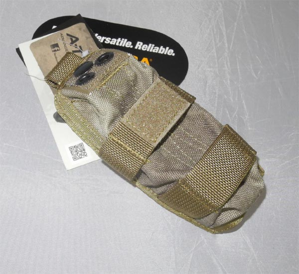 FLYYE MOLLE Strobe Pouch - A-TACS , A-TACS/FG